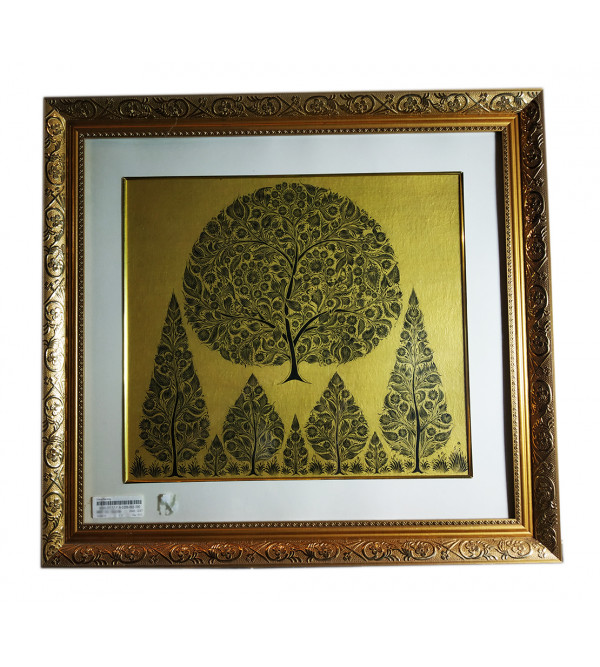 Sanjhi Handmade Painting