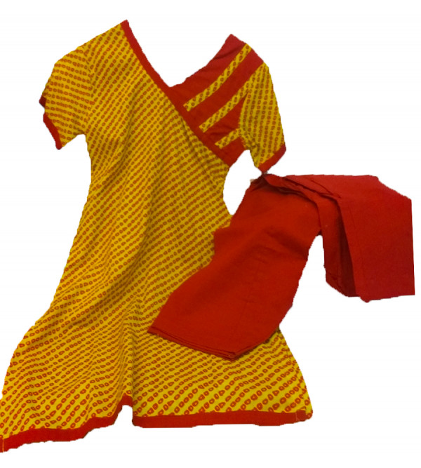 Salwar Kameez Set Cotton Size 6 - 8 Years