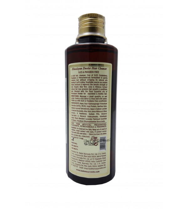 HIMALAYAN DEODAR HAIR CLEANSER  200ml