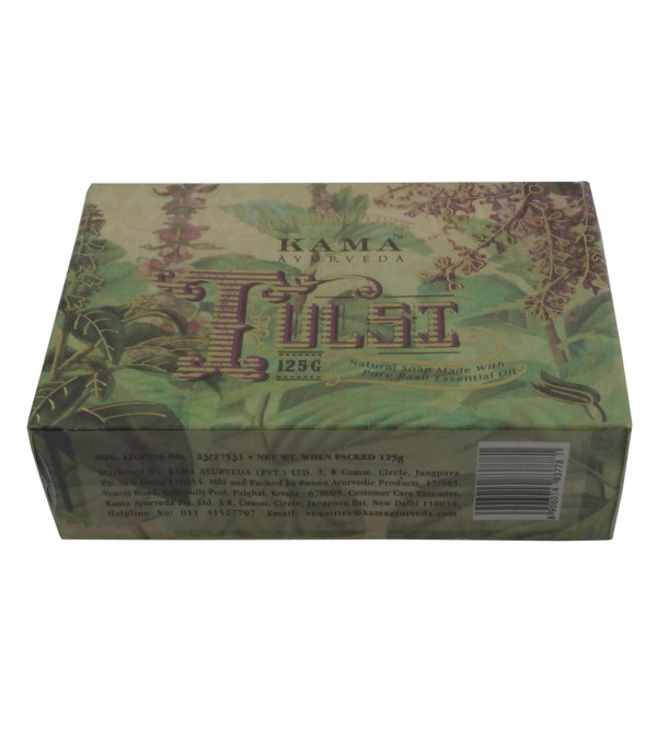 KAMA TULSI NATURAL SOAP 120 GM 125g