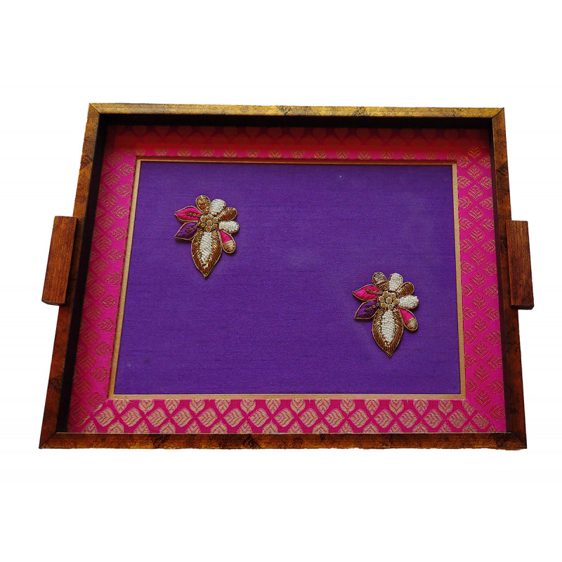 Papier Mache Tray Handcrafted