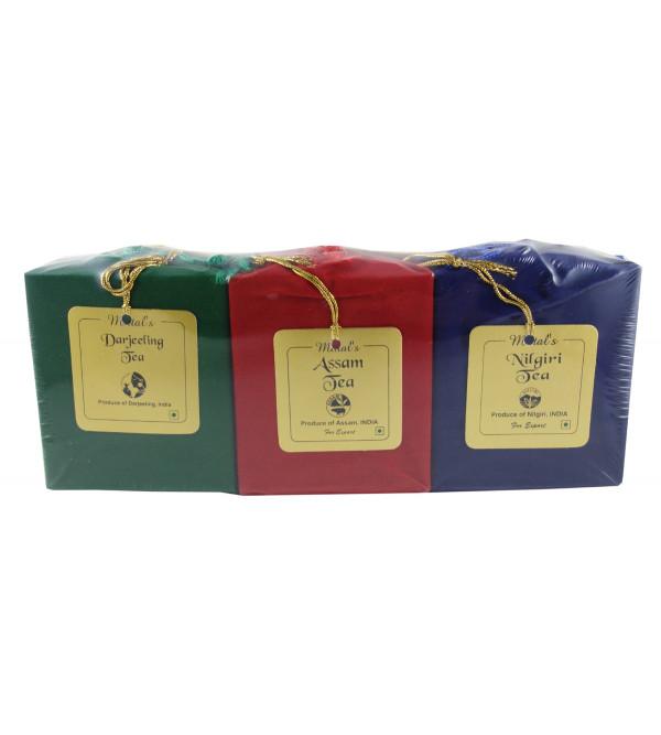 DARJEELING, ASSAM AND NILGIRI TEA 3IN1 WITH BOP TEA 300 GMS