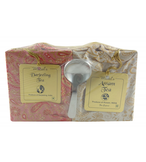 DARJEELING AND ASSAM 2 IN 1 TEA WITH SPOON 200 GMS
