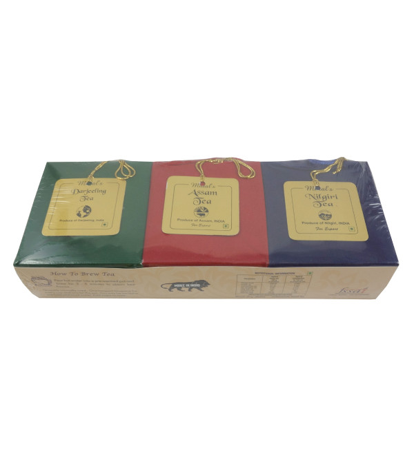 DARJEELING, ASSAM AND NILGIRI TEA 3IN1 WITH BOP TEA 300 GMS