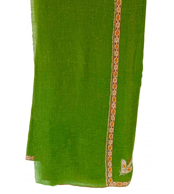 Pure Shawl Pashmina Hashidar 40 X80 Inch