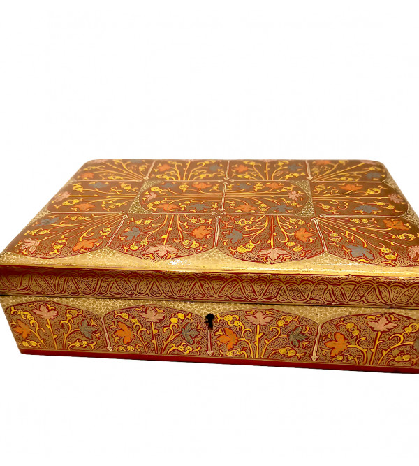 Hand crafted Papier Mache Jewellery Box