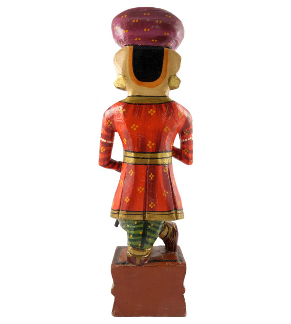 Darban Handcrafted In Mango Wood Size 12 Inches