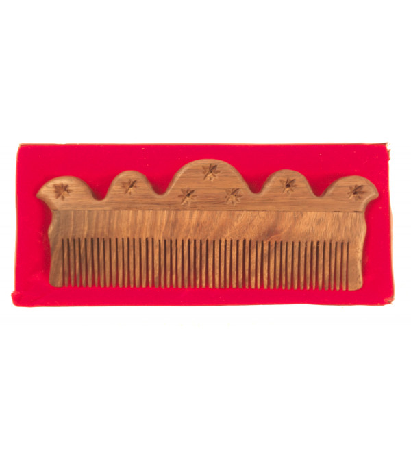 HANDICRAFT COMB TALI WOOD 7.5 INCH