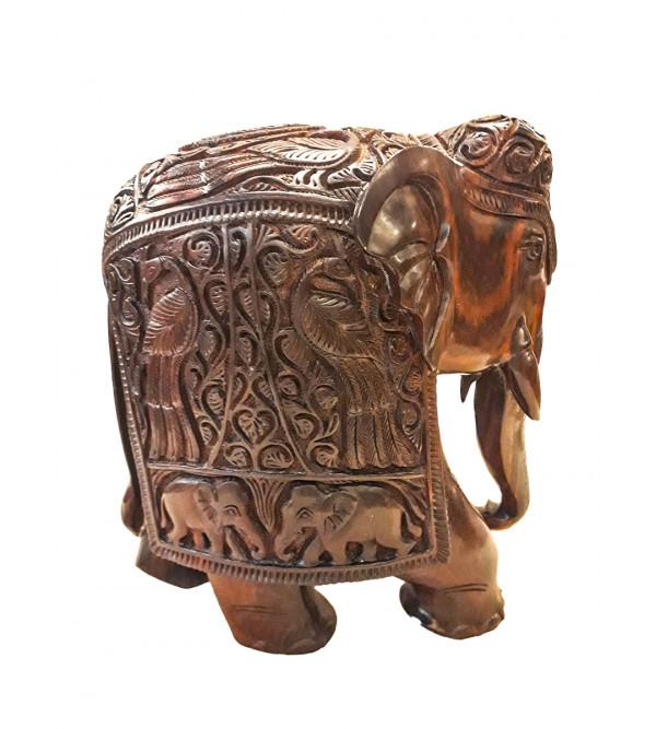 10  INCHES ELEPHANT RED SANDALWOOD