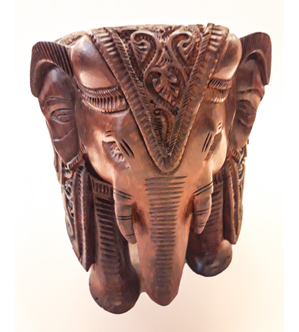 6 ELEPHANT RED SANDALWOOD