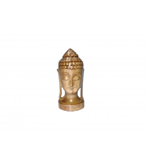 KADAM WOOD BUDDHA HEAD 4 INCH