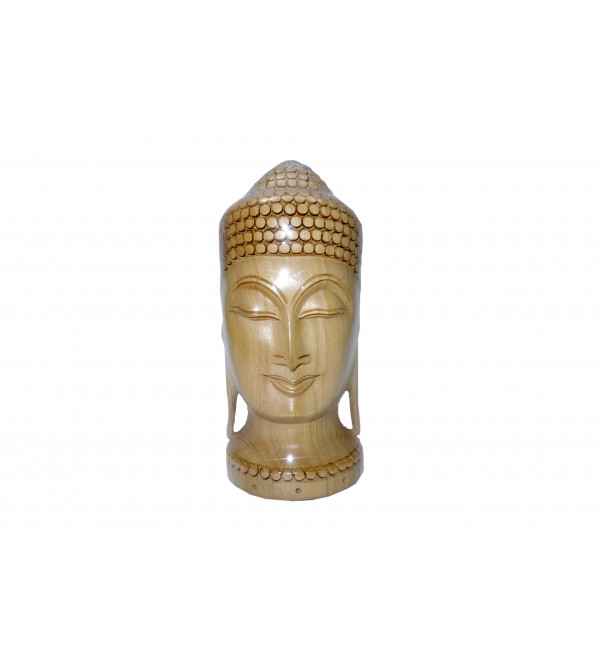 KADAM WOOD BUDDHA HEAD 6 INCH
