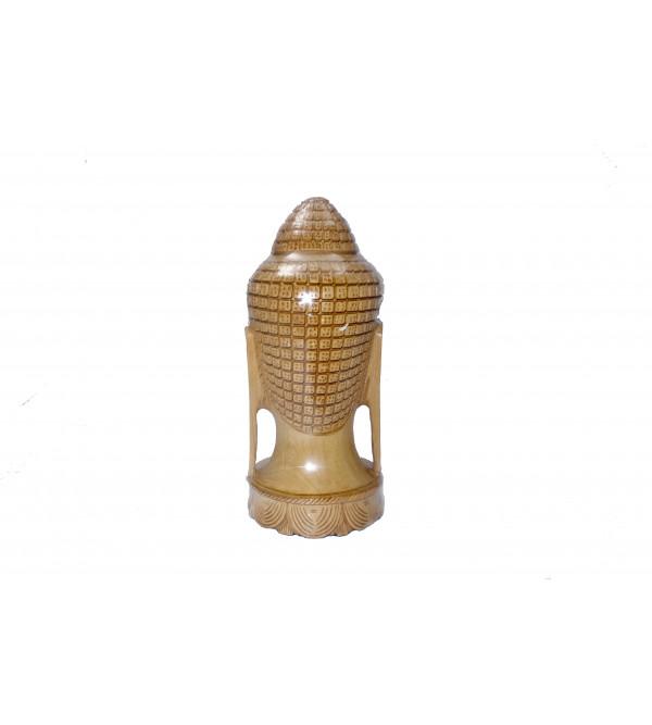 Kadamba Wood Handcrafted Lord Buddha Head