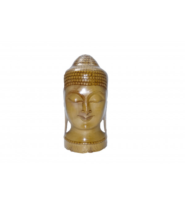 KADAM WOOD BUDDHA FACE 10 Inch