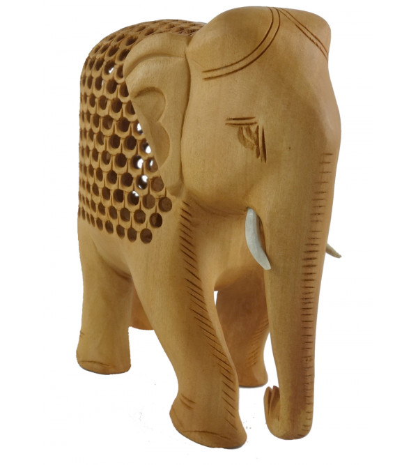 KADAM WOOD ELEPHANT UNDERCUT 6INCH
