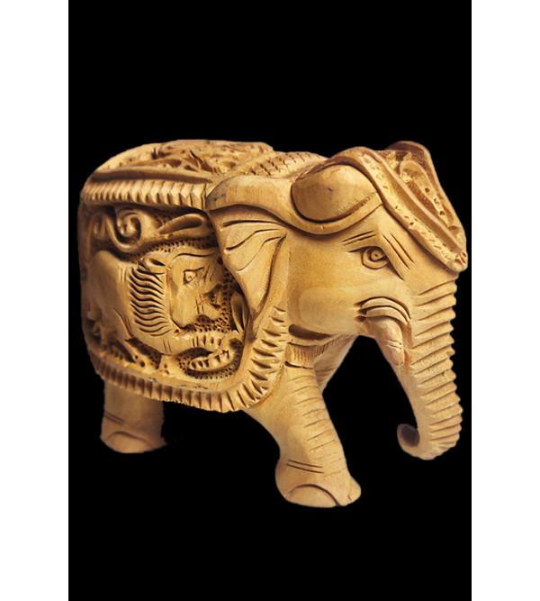ELEPHANT DEEP CARVED ASSORTED DESIGNS