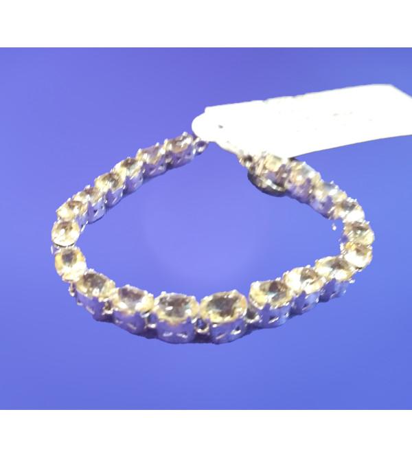 Silver Stone Bracelet