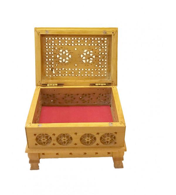BOX SANDAL WOOD 4x3 carved