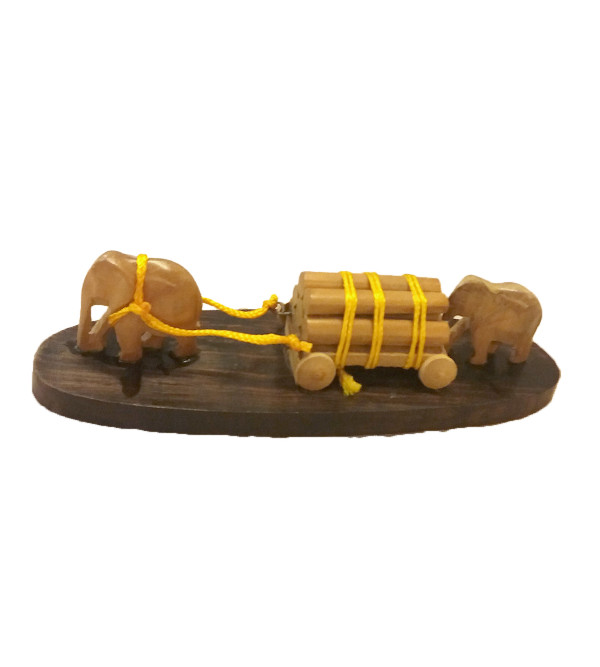 CART ELEPHANT SANDAL WOOD