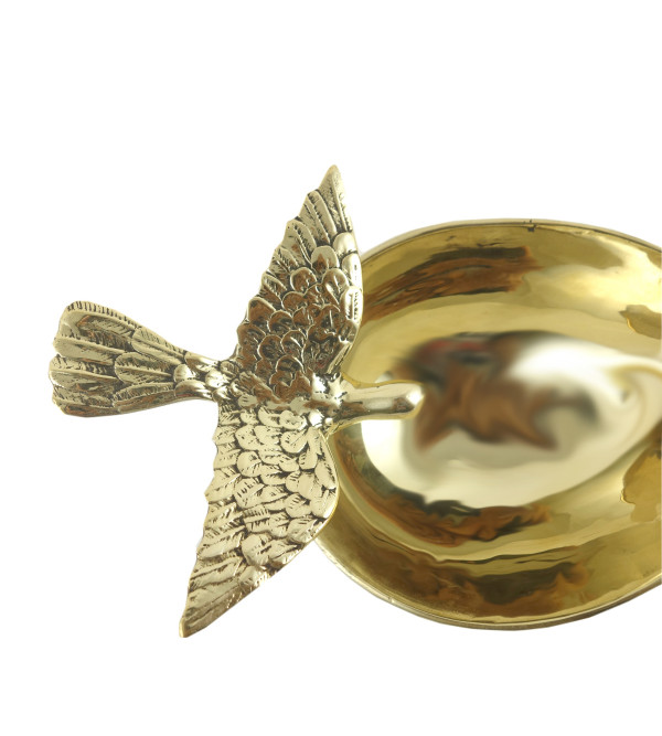 Bowl Handcrafted In Brass Size 3 Inches
