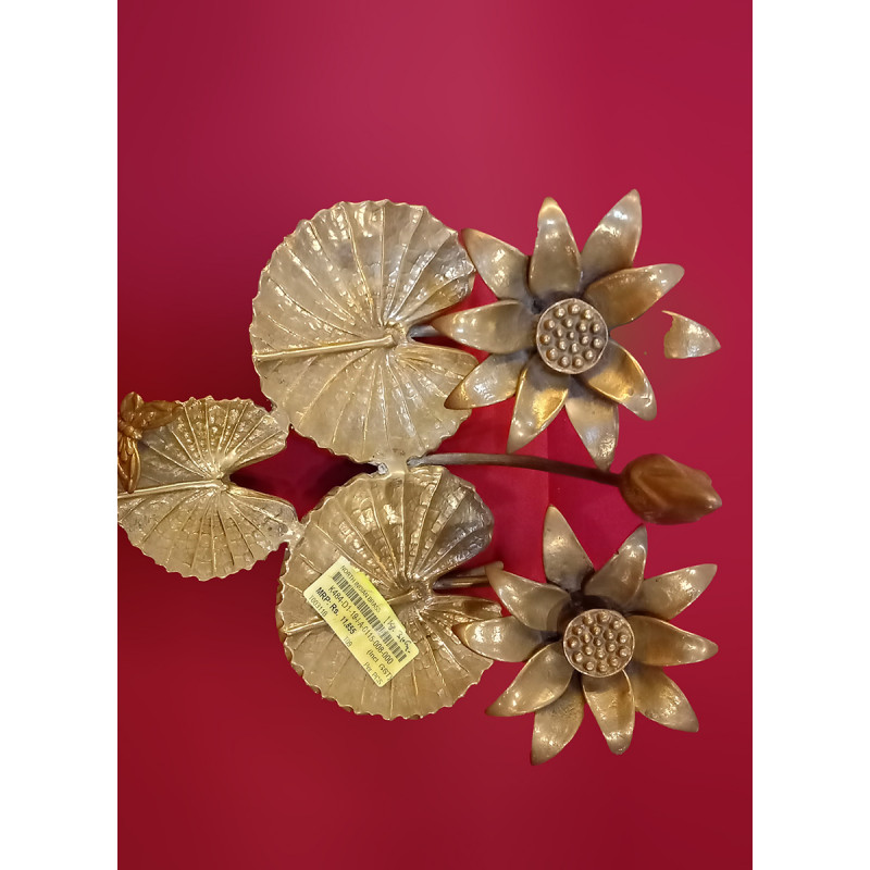 Decorative Art Piece Handcrafted In Brass