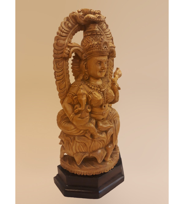 All Other Wood Including Sheesham Wood  Teek Wood WOODEN LAXMI 14 INCHES