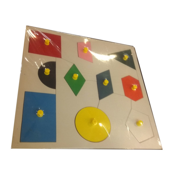 WOODEN EDUCATIONAL TOYS SHAPE AND COLOUR