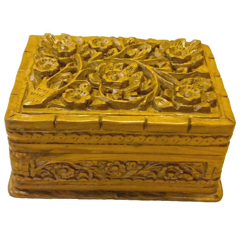 Walnut Wood Handcrafted Jewelry Box