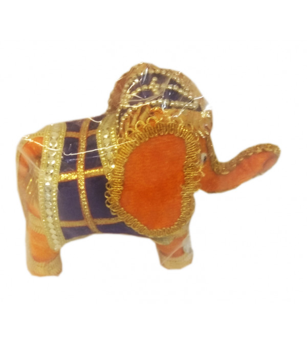 Traditional Stuff Toys of Rajasthan Elephant  Size 4 Inch