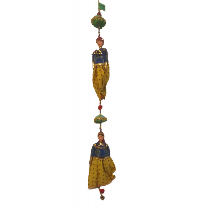 Traditional Stuff Toys of Rajasthan Puppet Size 10 Inch