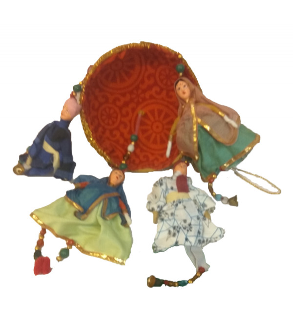 Traditional Stuff Toys of Rajasthan  Jhumar Size 3 Inch