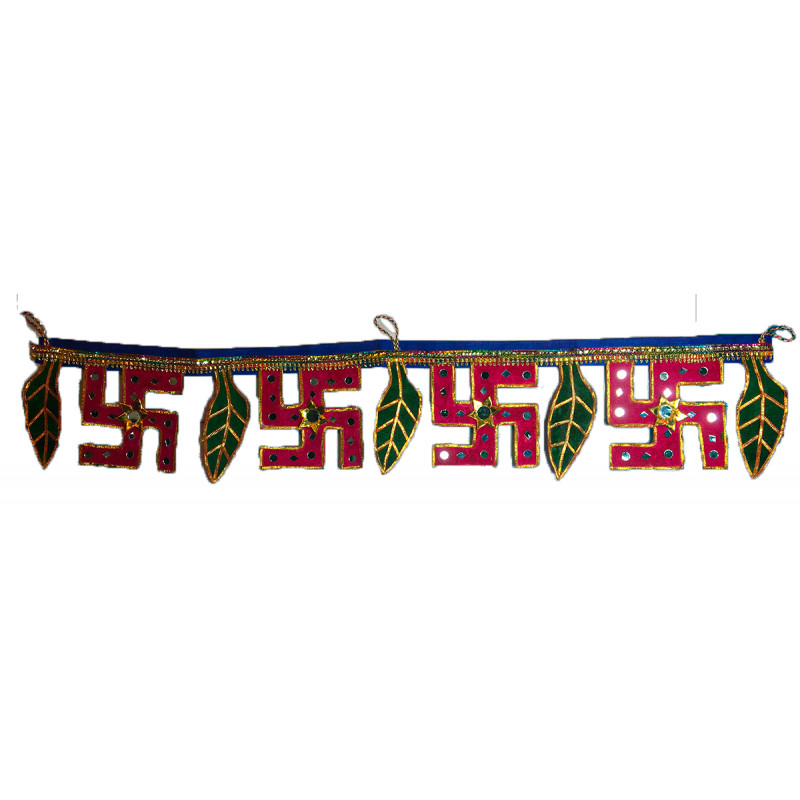 Traditional  Rajasthan Velvet Totran Size 30 Inch