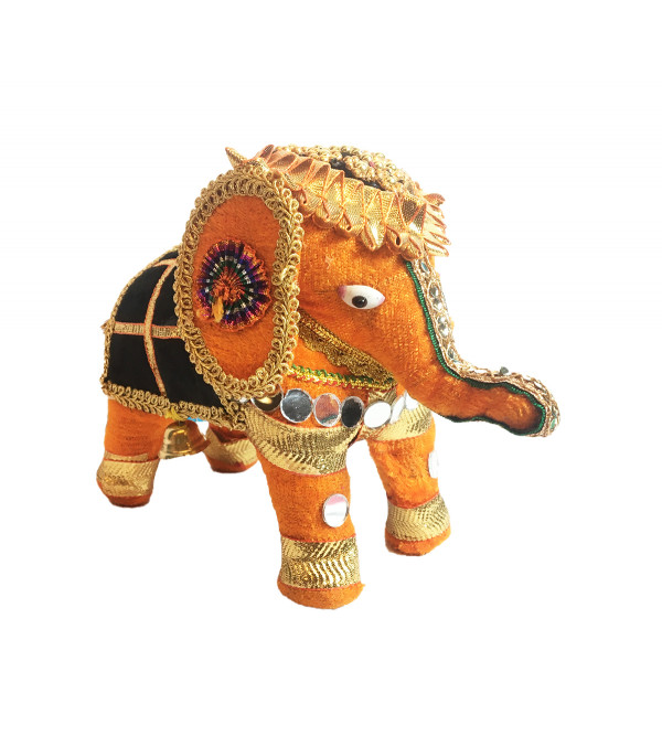 Traditional Stuff Toys of Rajasthan Elephant Hanging Size 5 Inch