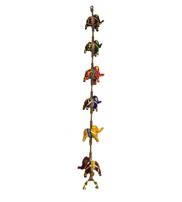 Traditional Stuff Toys of Rajasthan Elephant  Hanging Size 40 Inch