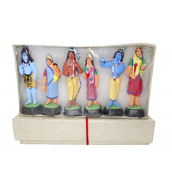 CLAY TOYS DEVTA SET