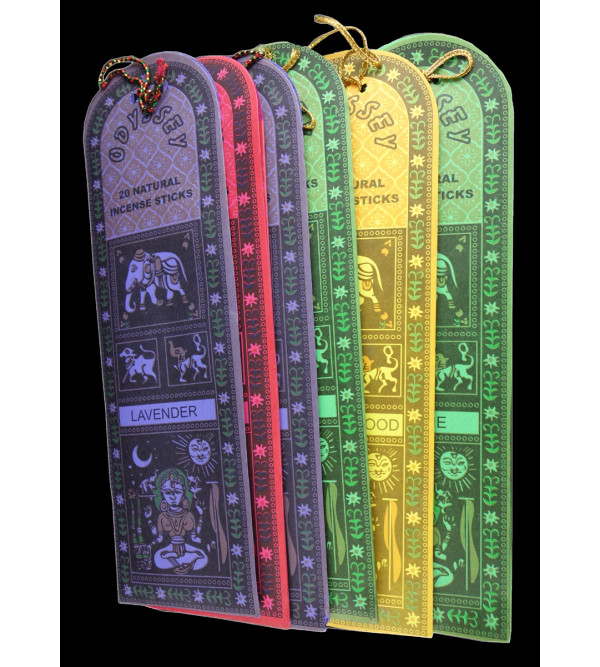 MADHUBANI ODYSSEY ASSORTED INCENSE PACK OF 6