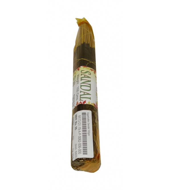 Aggarbattes Sandal 100gm incense with perfume base