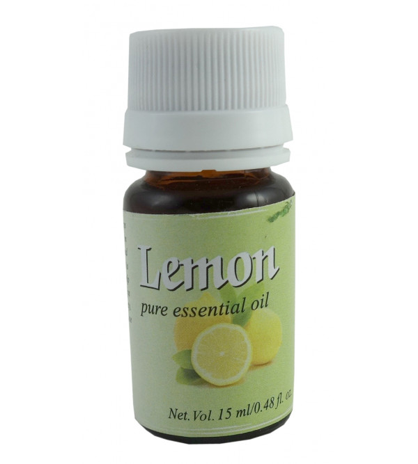 ESSENTIAL OIL LEMON 15ML