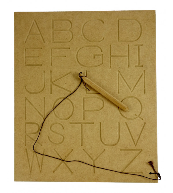 Wooden Educational Toy Alphabet Capital