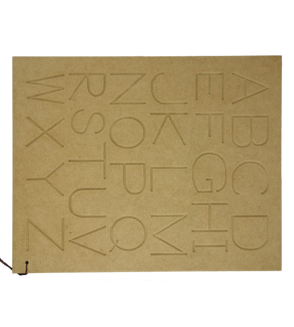 Wooden Educational Toy Alphabet Capital