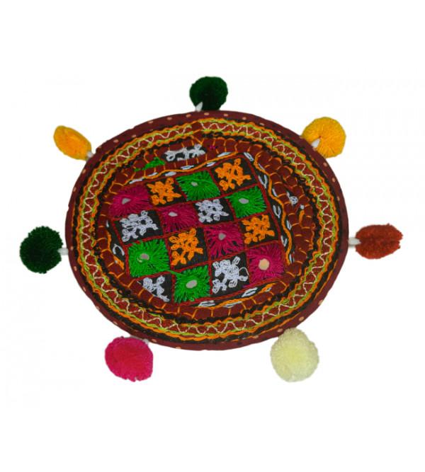 Double Colour Crochet  4 inch