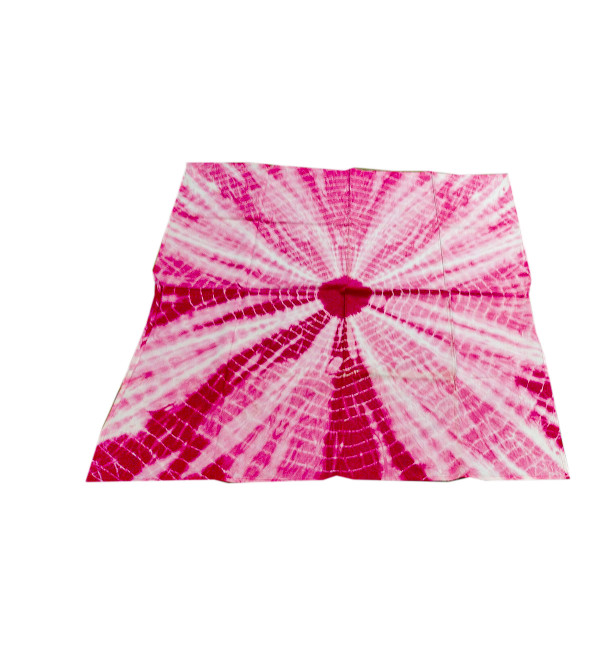 Cotton Bandhani Printed  Table Cover Size 36x36 Inch