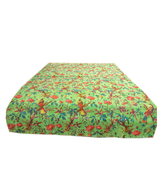 Cotton Hand Block Printed Table Cover Size 60x90 Inch