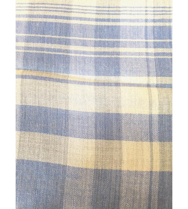 Stripe Woollen Stole Size  28X80 Inch
