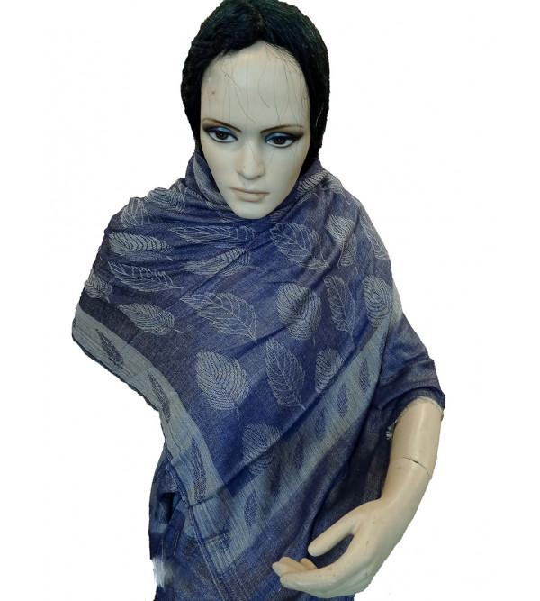 Self Design Hand Woven Woollen Stole Size ,28X80 Inch