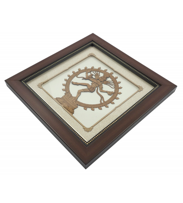 NATRAJ 8 X 8 INCH WOODEN ART PICTURES