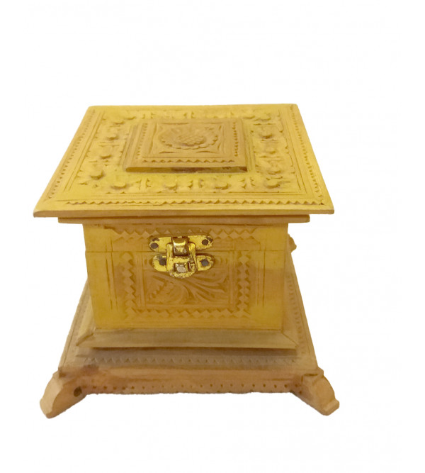 Sandalwood Handcrafted Carved Box