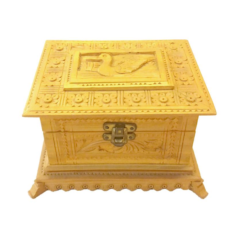 Sandalwood Handcrafted Carved Box