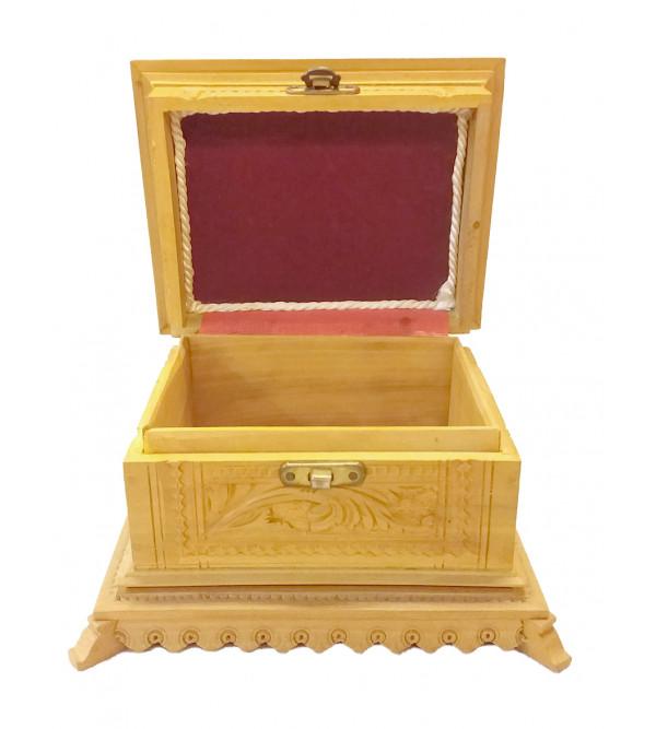 BOX SANDAL WOOD 5x4 carved