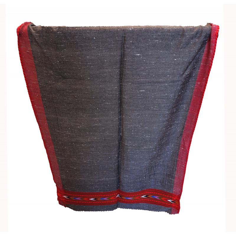 Woollen Stole Handwoven in Himachal Pradesh Size,28X80 Inch